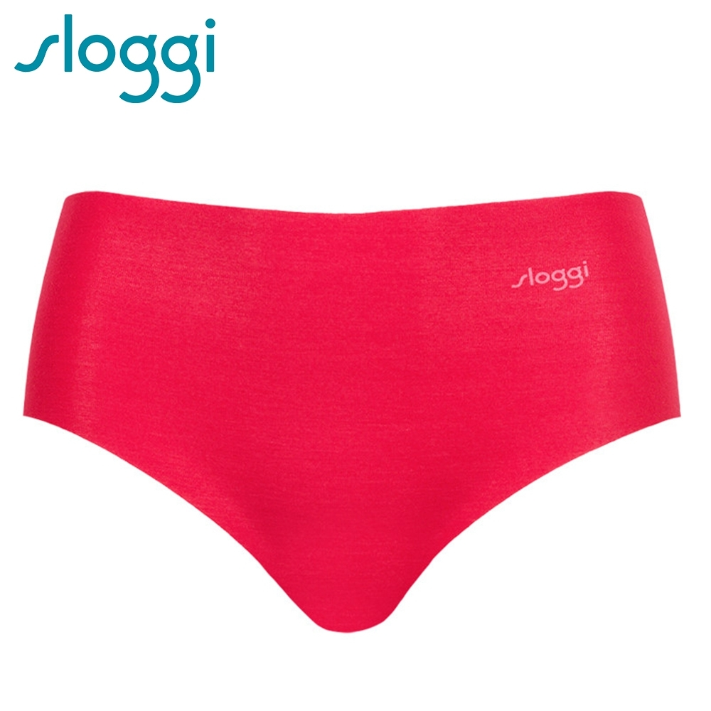 sloggi ZERO Modal 零感波浪型平口無痕褲 鮮紅色 76-1167 IX