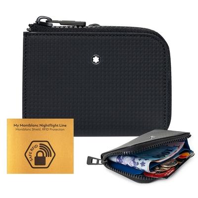 MONTBLANC 萬寶龍Extreme風尚2.0 RFID 拉鏈卡夾