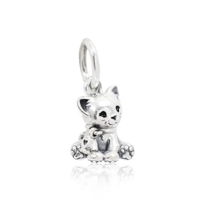 Pandora 潘朵拉 魅力小貓 垂墜純銀墜飾