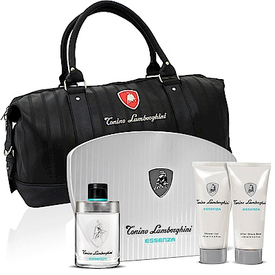 Lamborghini藍寶堅尼原力覺醒125ml淡香水禮盒-贈同品牌旅行袋
