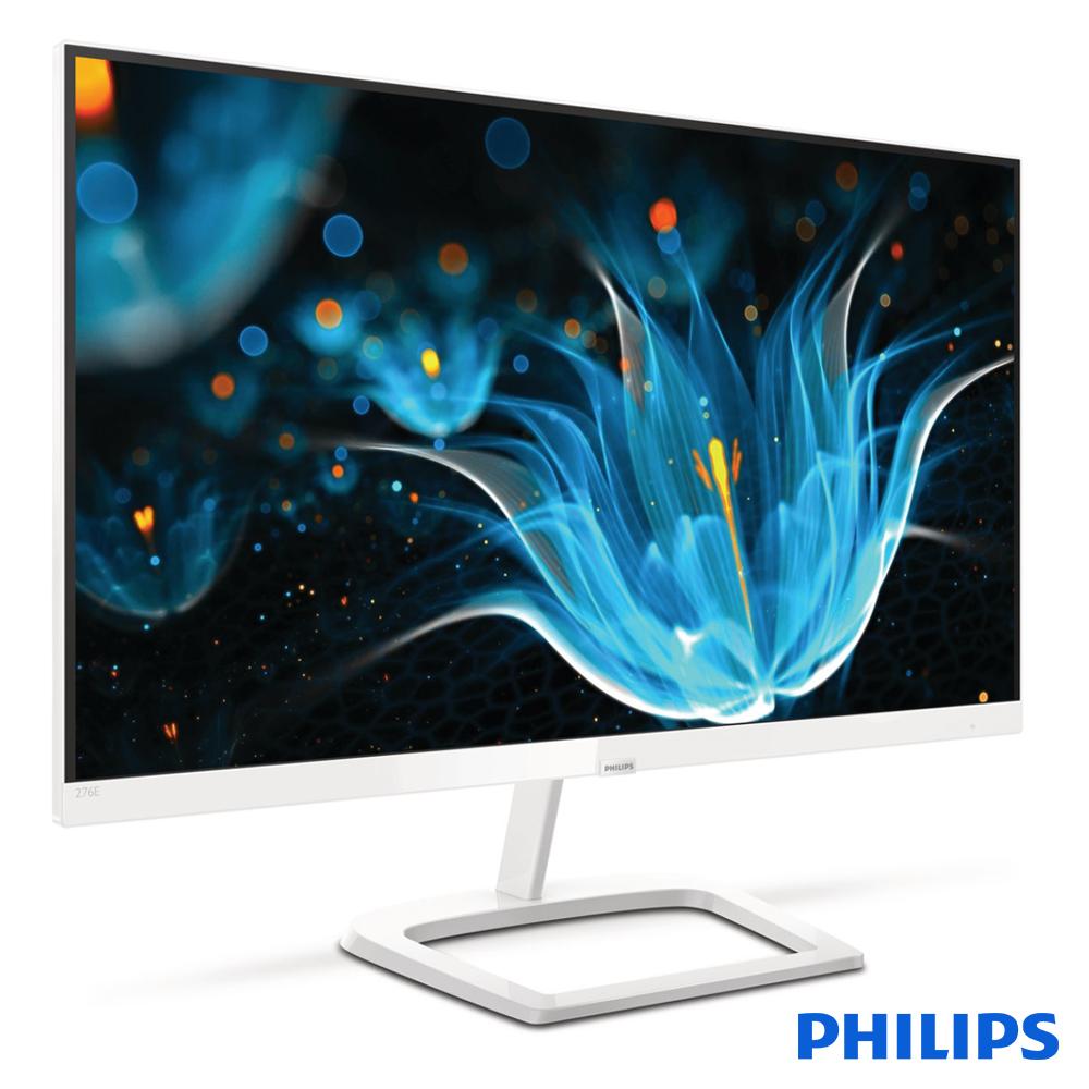 PHILIPS 276E9QHSW 27型(寬) IPS(白色)電腦螢幕