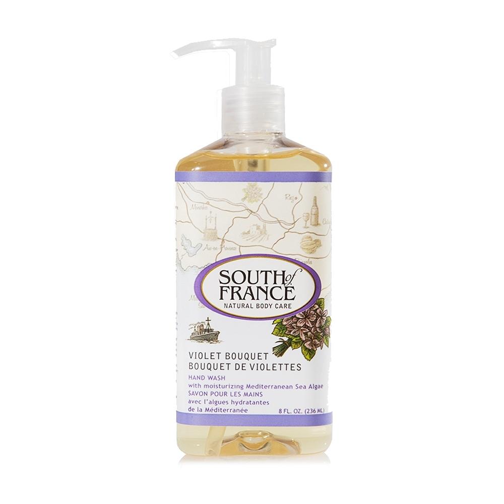(即期品)South of France 南法馬賽皂 精油洗手乳 – 紫鳶尾花 236mL(限量版)效期至2022/6/30