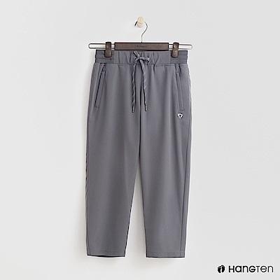 Hang Ten - 女裝 - ThermoContro-鬆緊綁帶機能長褲-灰