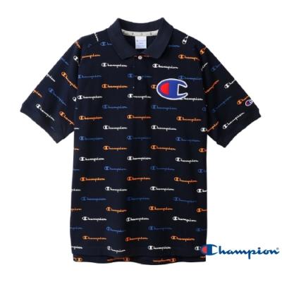 Champion Golf滿版LOGO Polo衫 深藍色