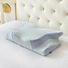 (贈抱枕x1)Casa Belle《皇室の夢枕》3D護頸人體工學紓壓涼感記憶枕-一入