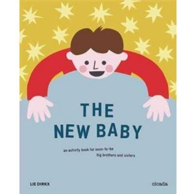 The New Baby 新生寶寶活動著色書