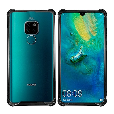 Metal-Slim HUAWEI Mate 20 PC+TPU雙料防摔空壓手機殼