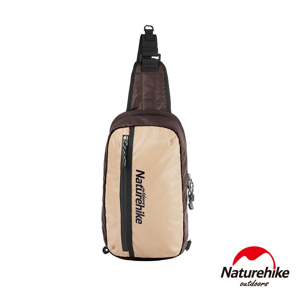 Naturehike 8L戶外輕量單肩斜背包 風行包 咖啡