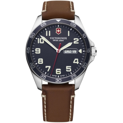 VICTORINOX瑞士維氏Fieldforce時尚手錶(VISA-241848)-藍