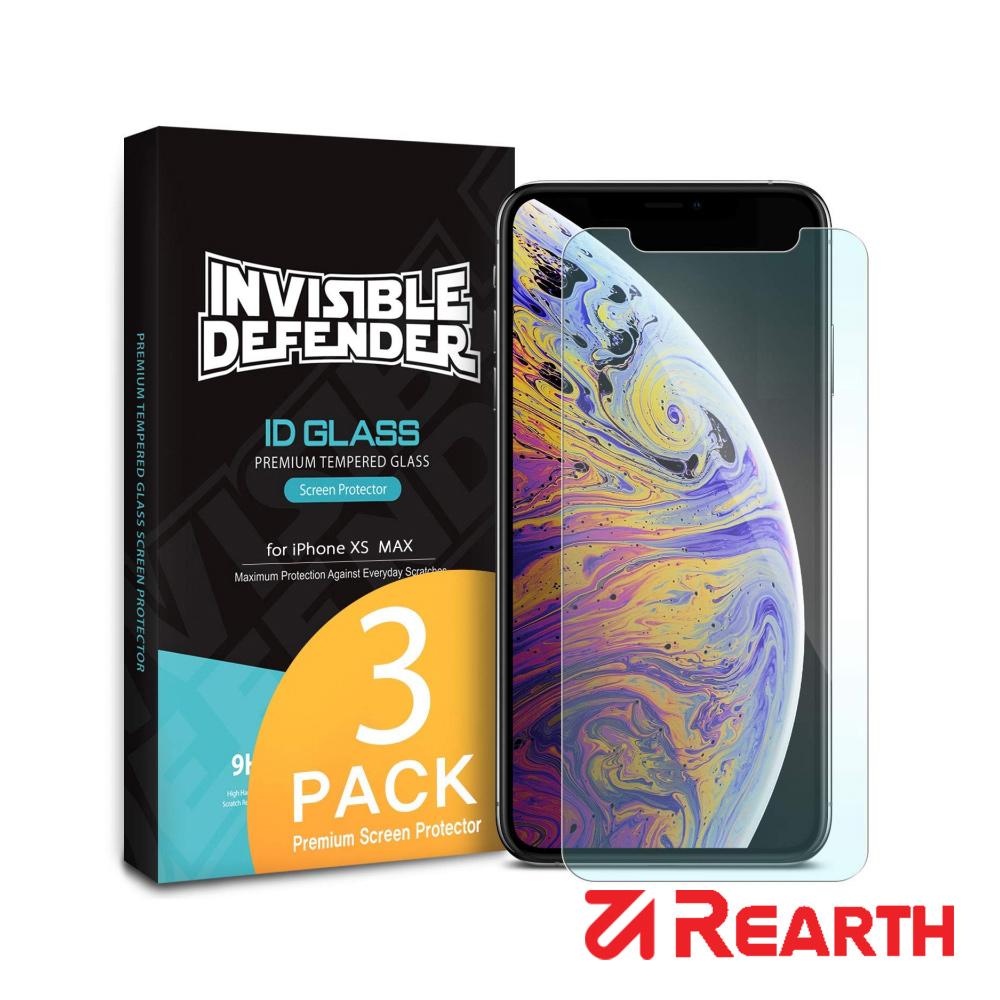 Rearth Apple iPhone Xs Max (0.33mm) 強化玻璃螢幕保護貼