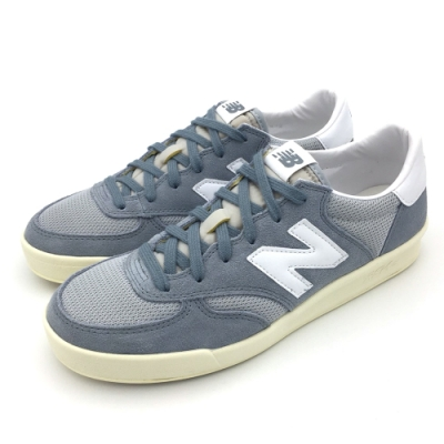 New Balance 復古鞋 男女休閒鞋 藍白