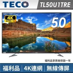限量福利品-東元 50吋 4K連網 液晶電視