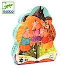 【任選】法國《DJECO-智荷》拼圖屋-三隻小豬(24片)