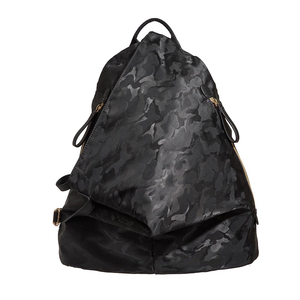 Bella Borsa 造型後背包-迷彩黑 BB17C001CAB
