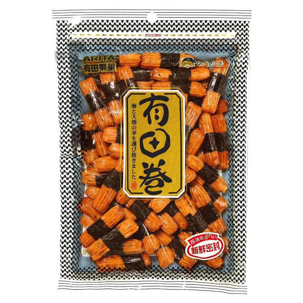 有田製果 海苔小卷(80g)