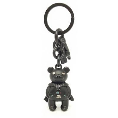 COACH STAR WARS 星際大戰黑武士小熊雙扣環鑰匙圈