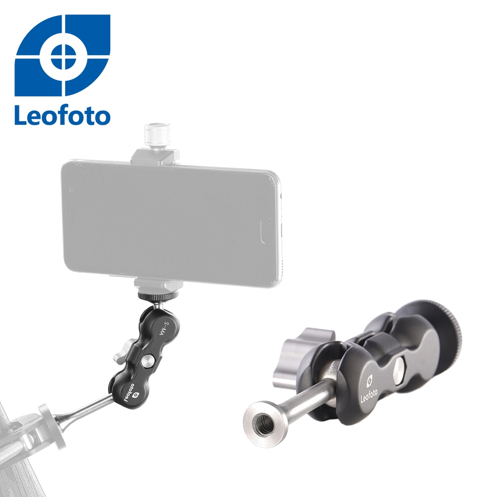 Leofoto徠圖 AM-2T魔術手臂[1/4螺孔+螺絲]