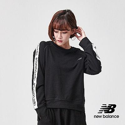 New Balance 長袖T恤_AWT91157BK_女性_黑色