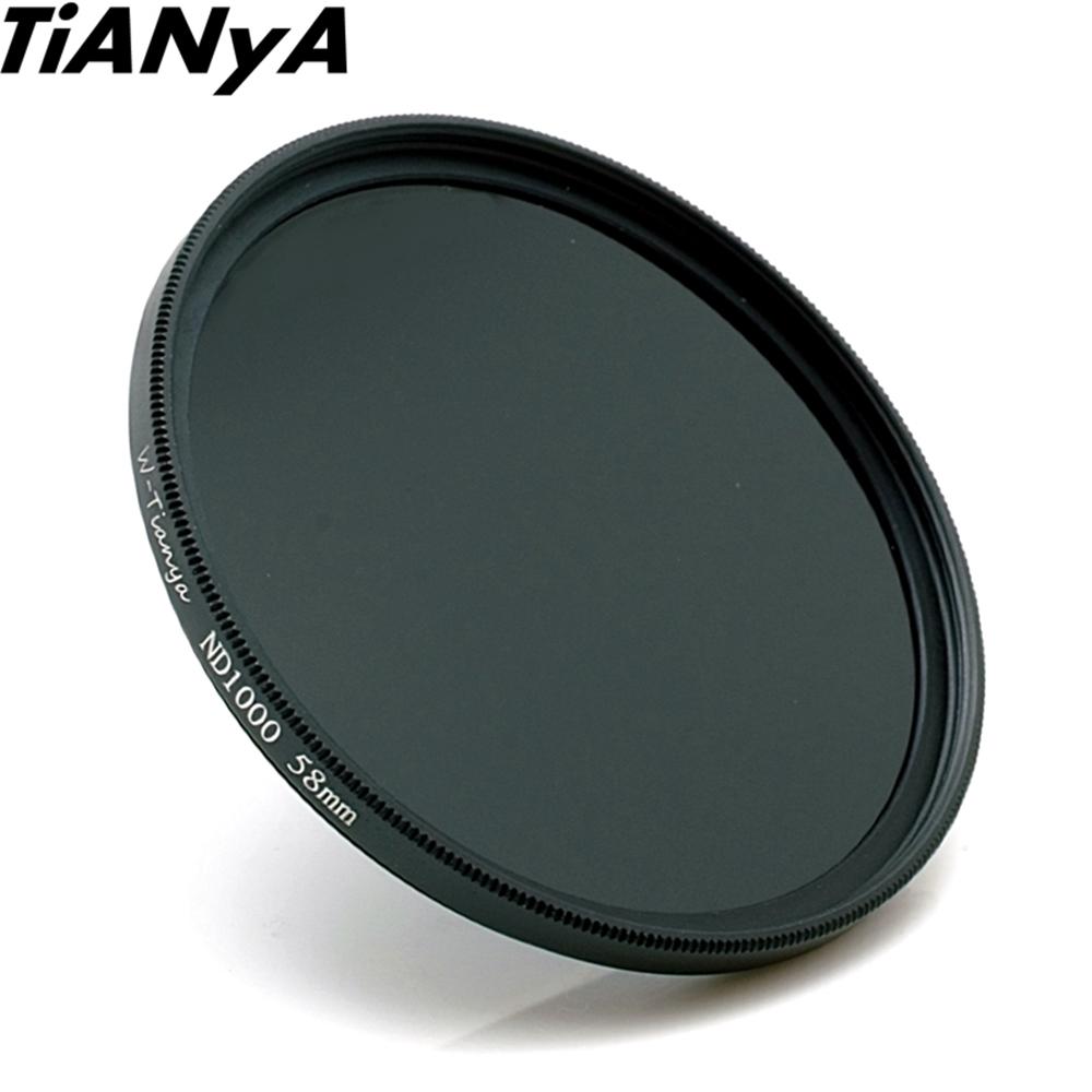 Tianya 薄框ND110減光鏡77mm減光鏡(減10格降1/1000)