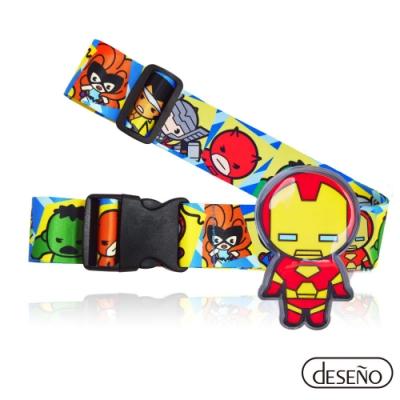 Marvel 漫威英雄立體名牌束帶-鋼鐵人