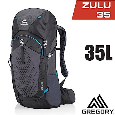 美國 GREGORY  Zulu 35 專業健行登山背包35L_臭氧黑