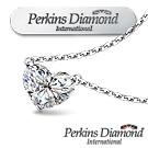 PERKINS 伯金仕 - GIA 0.30克拉 Heart Cut 心形鑽石項鍊