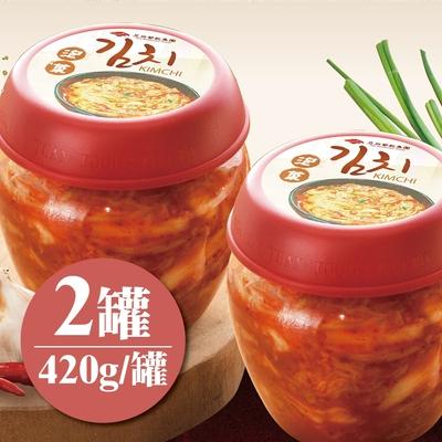 涓豆腐 韓式泡菜(420g/罐)2罐