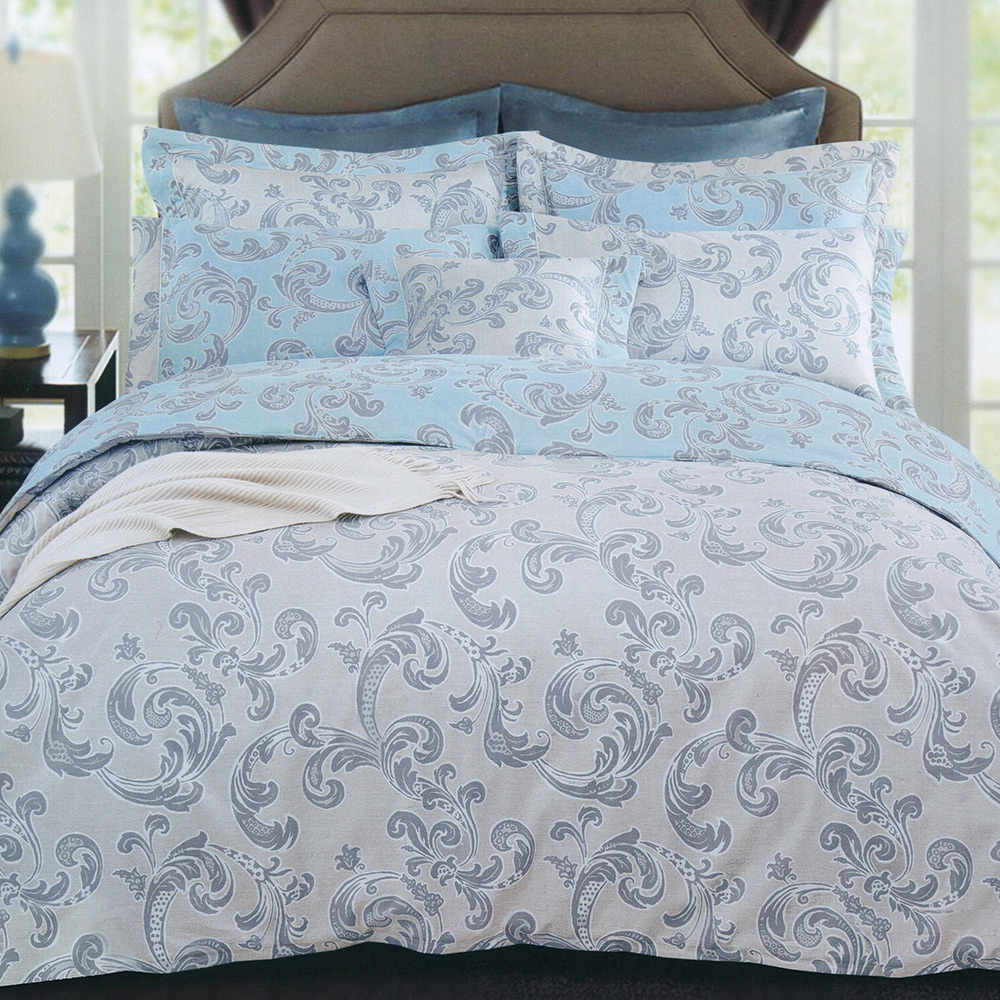 澳洲Simple Living 加大長纖細棉兩用被床包組-歐風世代(台灣製)