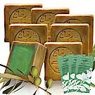 正宗敘利亞Najel 月桂油12%阿勒坡手工古皂200g七入(贈洗髮隨身包*3)