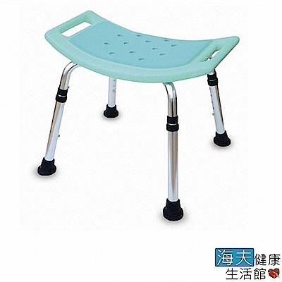 海夫健康生活館 無背洗澡椅+綠EVA膠墊