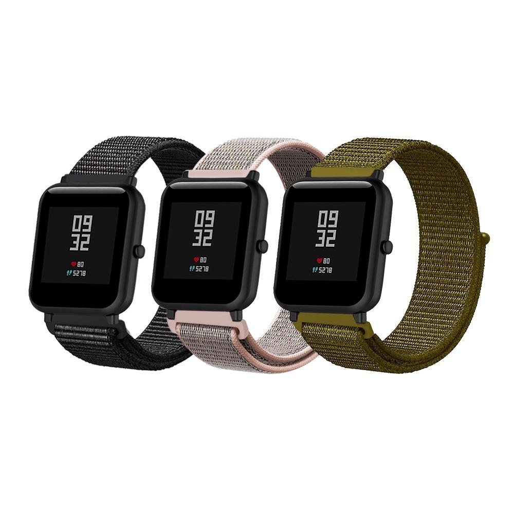 華米米動 Amazfit Bip Watch 20mm 尼龍織紋回環錶帶