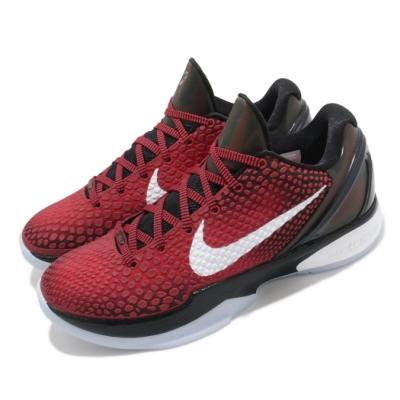 Nike 籃球鞋 Kobe VI Protro 運動 男鞋 經典款 復刻 曼巴精神 球鞋 穿搭 紅 黑 DH9888600