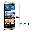 YANGYI揚邑 HTC M9 防爆防刮防眩弧邊 9H鋼化玻璃保護貼膜