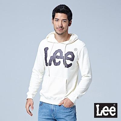 Lee 大LOGO連帽厚TEE/RG