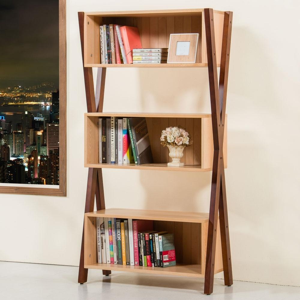 Homelike 艾克斯實木展示櫃-89x42x175 公分