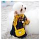 寵愛有家-寵物秋冬牛仔格子吊帶款服飾(寵物衣服) product thumbnail 1