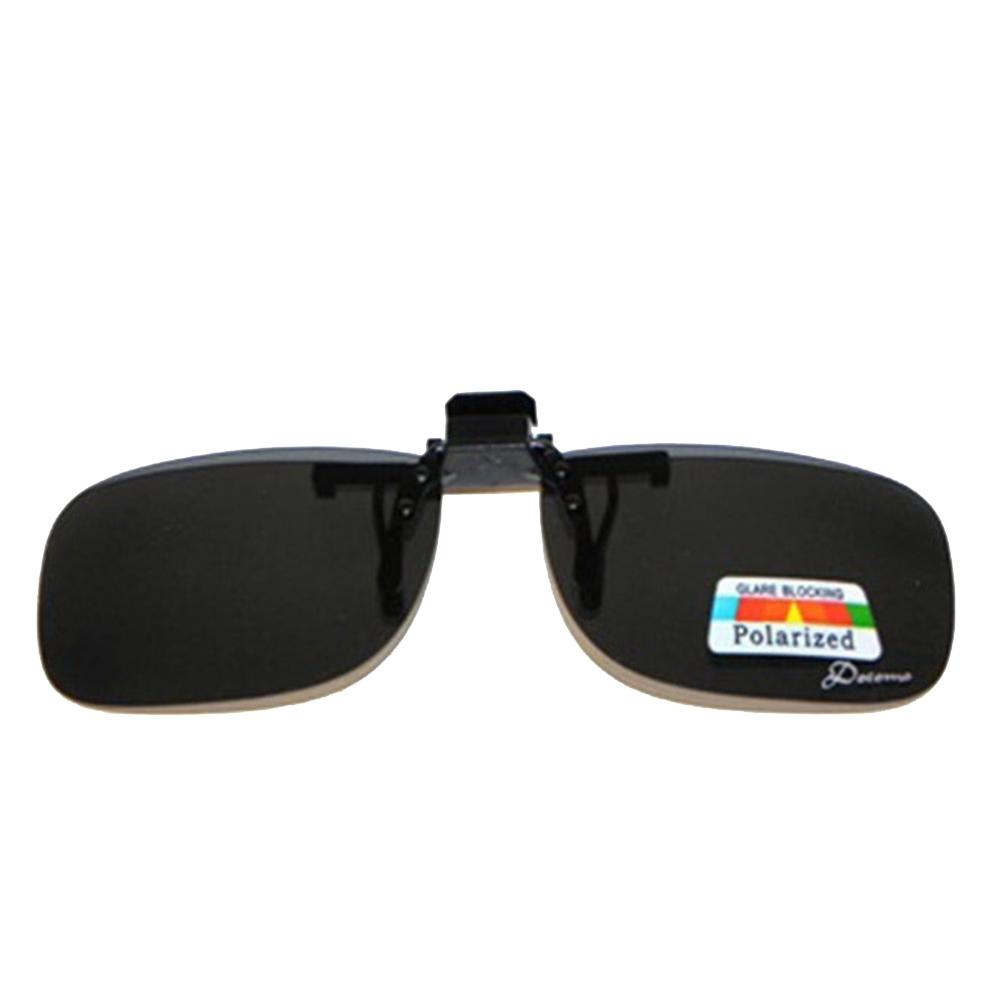 Docomo夾式可上掀式偏光太陽眼鏡 輕量級設計 可夾在各類眼鏡框 抗紫外線首選