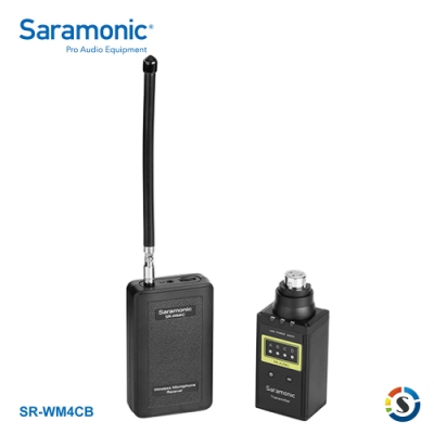 Saramonic楓笛 SR-WM4CB 一對一VHF無線麥克風系統