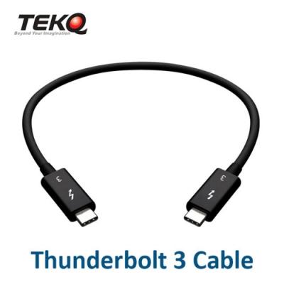 TEKQ Thunderbolt 3 公對公 連接傳輸線 50公分