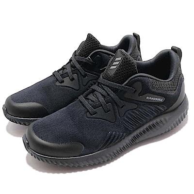 adidas 慢跑鞋 Alphabounce 運動 童鞋