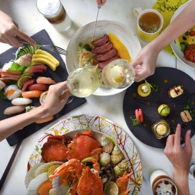 (台北W飯店)the kitchen table 2人週一至週四自助晚餐或週六週日自助午餐