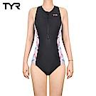 美國TYR 拉鍊式運動連身三角泳裝 Seychelles Zip Swimsuit