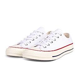 CONVERSE-男女休閒鞋162065C-白