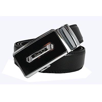 DRAKA 達卡 - 紳士貴族真皮自動皮帶-41DK851-7303