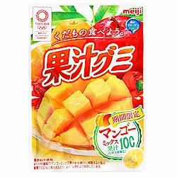 明治製果 果汁軟糖-芒果&綜合水果(47g)