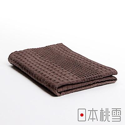 日本桃雪 今治鬆餅浴巾(巧克力鬆餅)