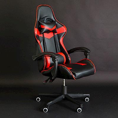 IDEA-尊爵版PU皮革舒適包覆電競賽車椅-3色可選