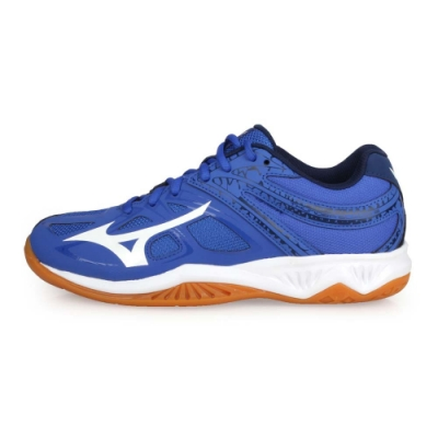 MIZUNO 男女 排球鞋 THUNDER BLADE 2 藍白丈青