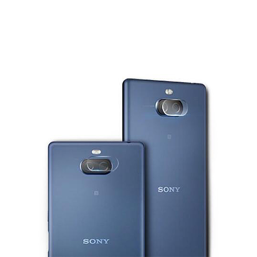 QinD SONY Xperia 10 Plus 鏡頭玻璃貼(兩片裝)