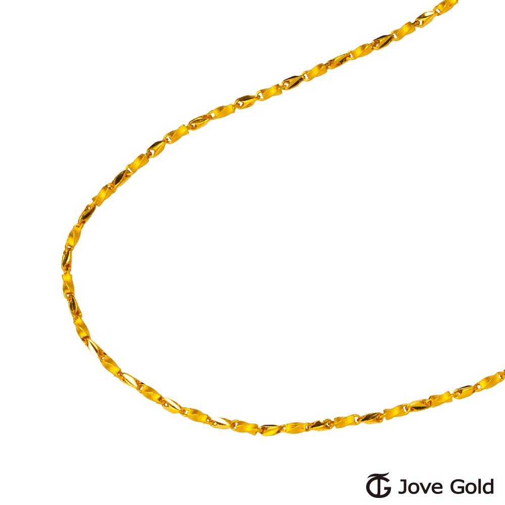 (無卡分期12期)Jove Gold 良緣黃金項鍊(約6.00錢)(約2尺60cm)